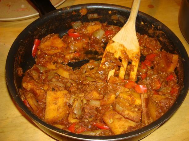 Ethiopian-style Lentils with Yams/Sweet Potatoes