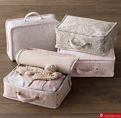 Kocham.to - Płócienne walizeczki