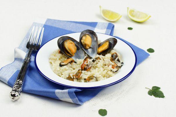 Arroz con mejillones, ¡muy sabroso! #rice #recipes #recetas #arroces