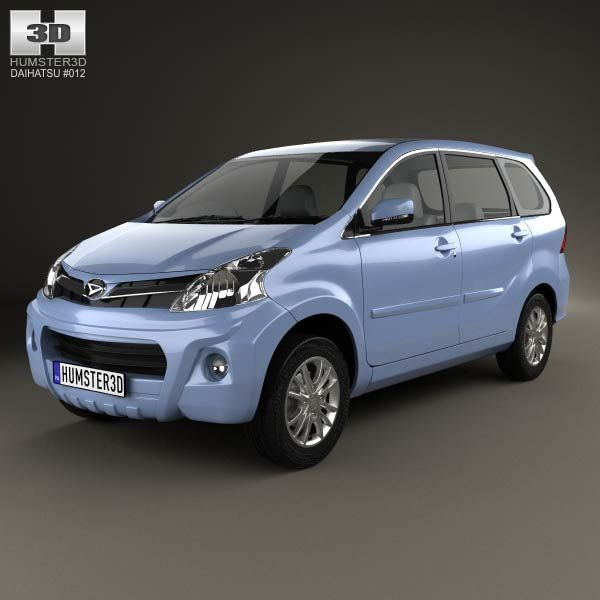 Daihatsu Xenia Sporty 2013 3d model from humster3d.com. Price: $75