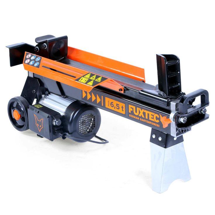 Pro horizontální štípačku FX-HS16 o síle 6,5 t nejsou problémem ani větší kmeny. Průměr polena: max 250 mm, délka polena 520 mm. Výkonný motor 2200 W, 400V 50Hz. Naštípe až 100 polen za hodinu, bezpečně a tiše zvládne jak vyschlé, tak i čerstvé dřevo.