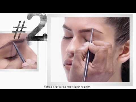 M·A·C Instant Artistry: Cejas definidas y esculpidas - YouTube