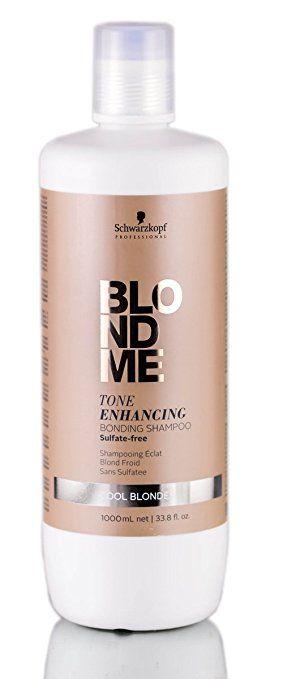 Schwarzkopf Pro BlondMe Tone Enhancing COOL BLONDE Bonding Shampoo (includes free… Review