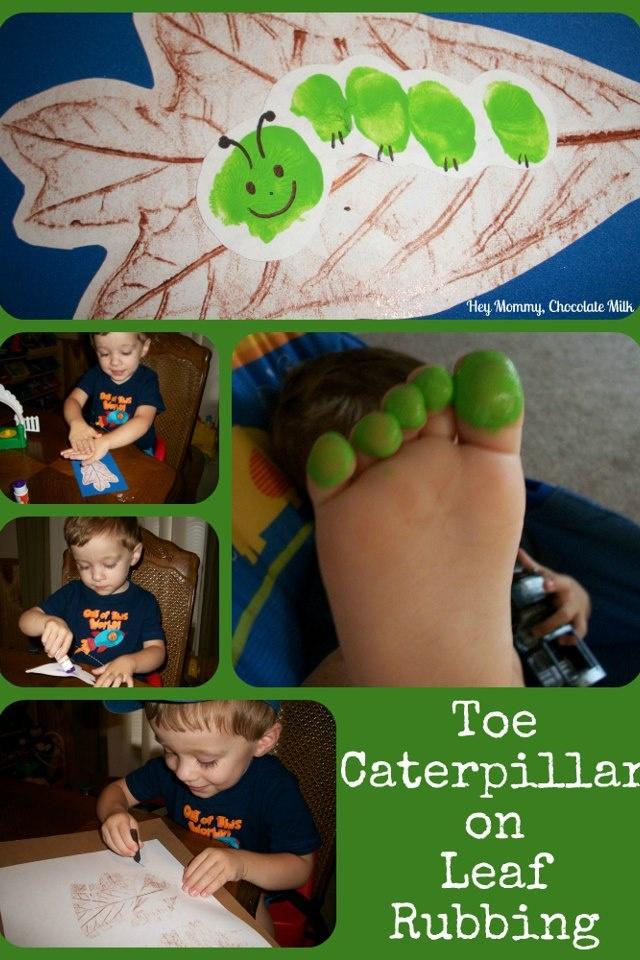 Toeprint caterpillar