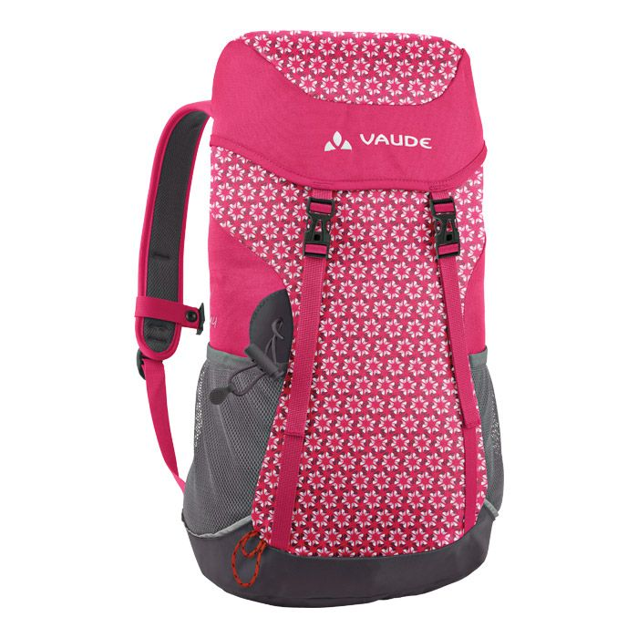 The big brother of the Puck 10, ideal for free-time, daily use, hiking, school, day trips. Outfitted with everything that outdoor kids need. Zip pocket in the lid - jacket holder under the lid - gear loops - 2 outer mesh pockets - webbing hip belt - sternum strap - opening for hydration system - seating mat - reflective piping
