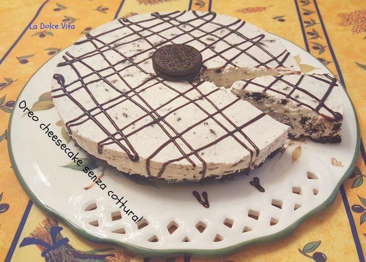 #Oreo #cheesecake ricetta senza cottura!