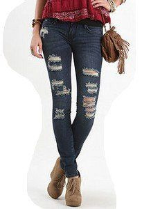 Ripped Jeans for Women | How to Wear Destroyed and Distressed ...
