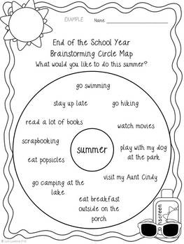 best end of school activities images school end  narrative writing students will love writing about their plans for the summer this project