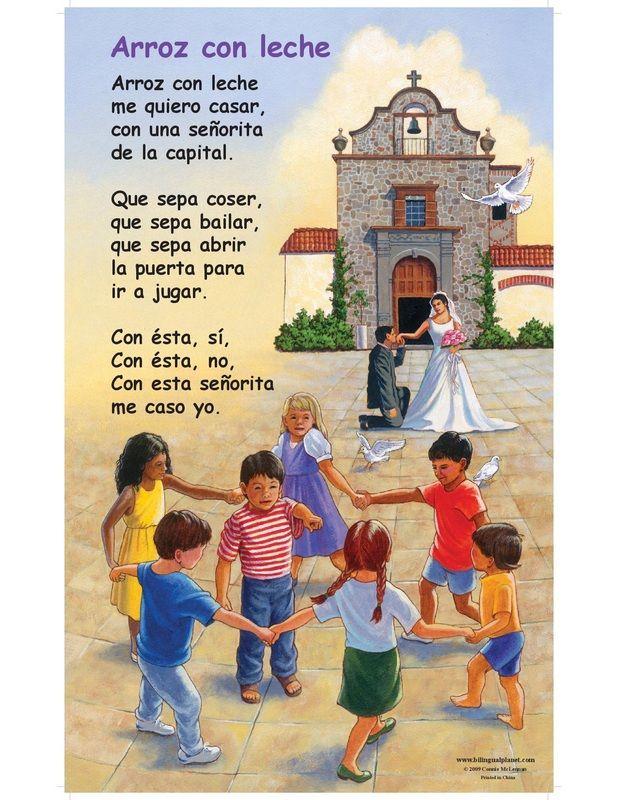 Nursery Ryhmes in Spanish with Lyrics and Music
