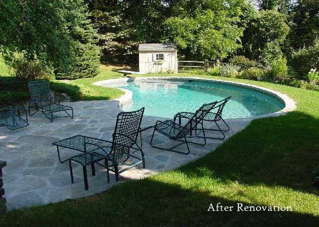 Best 25 kidney shaped pool ideas on pinterest - Pool restoration ...