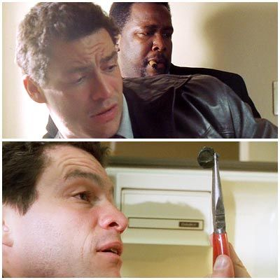 Dominic West, The Wire | Season 1, Episode 4 Watching Bunk, chomping on his cigar, and McNulty methodically work a crime scene was one of The Wire 's richest pleasures.…