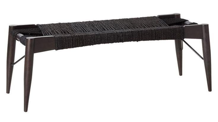 Wrap Black Bench