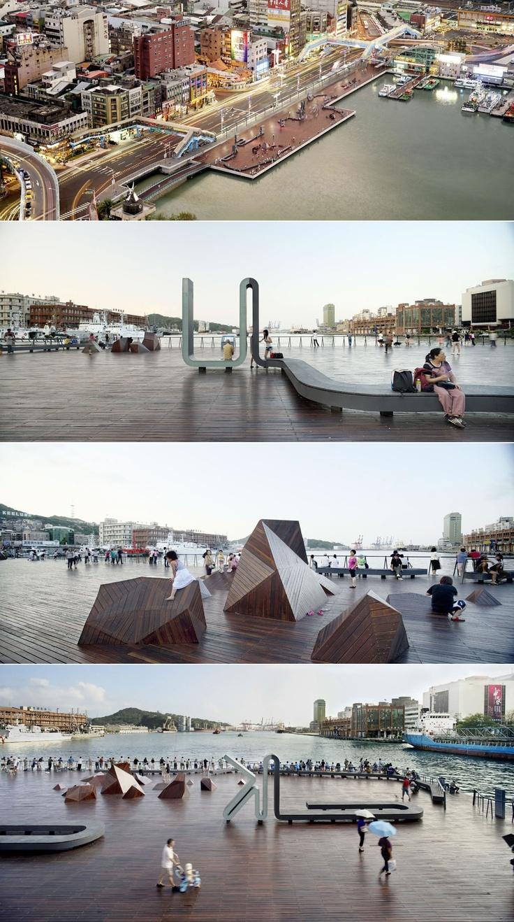 Guallart Architects || Keelung Port (Taipei, Taiwan) || 2003
