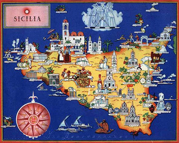 I love this map and I love Sicily!