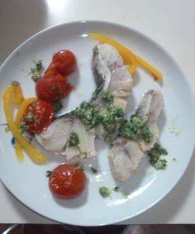 イタリア風 白ワインの煮魚 バジルソース by みよちさん | レシピ ...