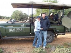 On Safari at Shamwari Game Reserve in South Africa