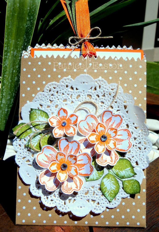 Spring Blossom Musings: Just Add Ink #254 - Colour Combo Mini Treat Bag, Flower Shop, Kinda Eclectic, Petite Petals