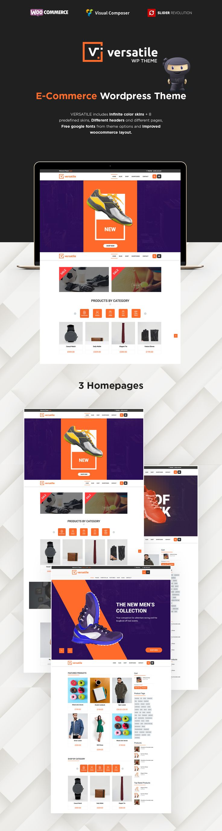 Versatile - Multipurpose WooCommerce WordPress Theme by modeltheme