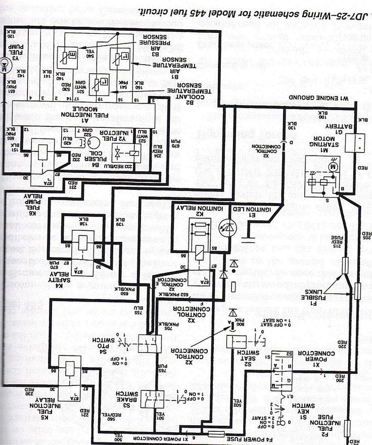 John Deere Wiring Diagram On Seat Wiring Diagram T