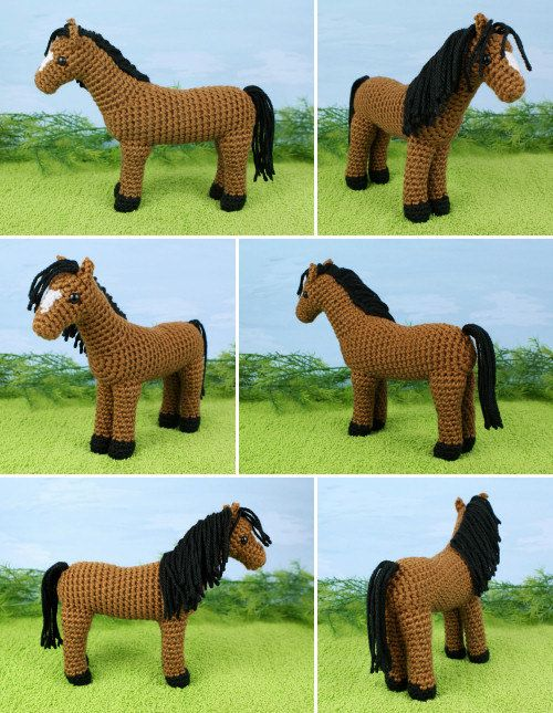 PDF Horse amigurumi CROCHET PATTERN by PlanetJune on Etsy