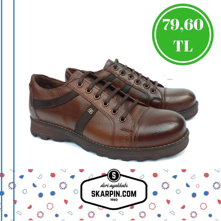 Deri Bağcıklı Günlük Ayakkabı Kahverengi BK823517 Fiyat Kalite Ürünü #moda #ayakkabı #deri #nubuk #süet #düğün #nişan #kına #tatil #manzara #bodrum #istanbul #stil #kombin #erkek #giyim #erkekgiyim #deriayakkabı #trend #landscape