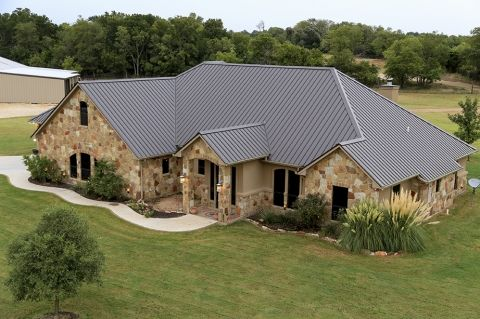 Beautiful Cf Panel Burnished Slate Metal Roofing Mueller Metal Roofing Pinterest Photos