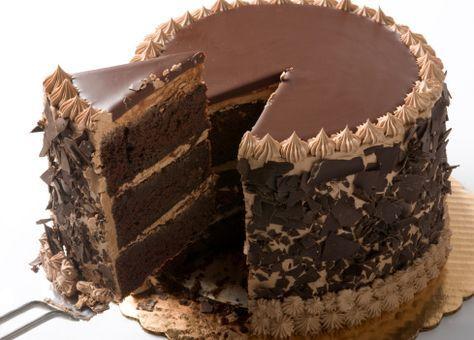 Avete presenti le maestose torte al cioccolato americane, quelle alte, composte da golosi strati farciti e come se non bastasse ricoperte di creme varie? Bene era da tempo che mi frullava in testa l'idea di prepararne una, ogni volta desistevo un po' perchè pensavo che la preparazione sarebbe stata parecchio complicata ed un po' perchè…