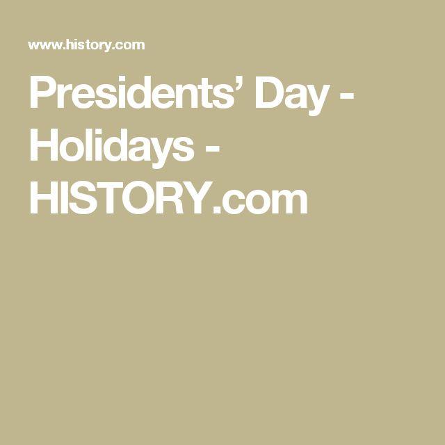Presidents' Day - Holidays - HISTORY.com