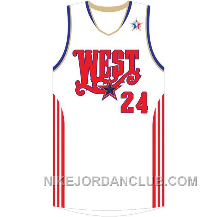 http://www.nikejordanclub.com/2008-nba-allstar-kobe-bryant-24-white-jersey-online.html 2008 NBA ALL-STAR KOBE BRYANT #24 WHITE JERSEY ONLINE Only $89.00 , Free Shipping!