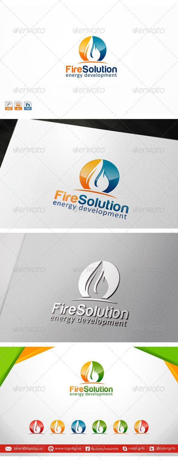Oil and Gas Energy - Logo Design Template Vector #logotype Download it here: http://graphicriver.net/item/oil-and-gas-energy/7591131?s_rank=56?ref=nexion