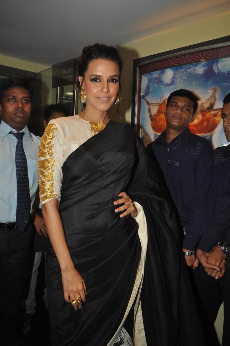 "Neha Dhupia and Hazel Keech at ""Maximum"" Movie Music Launch. | Bollywood Cleavage"