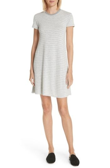 ecfd669845c09 ATM Anthony Thomas Melillo Stripe T-Shirt Dress | The Best 'See Now ...