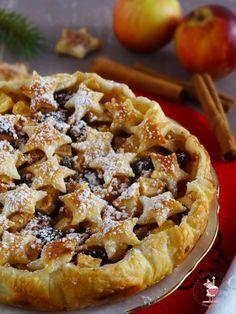 crostata di mele natalizia