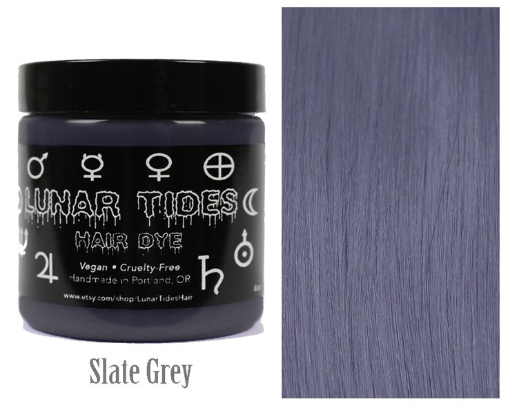 Looking for a new one-of-a-kind hair color? Silver Lining is a one-of-a-kind medium silver hair dye with blue undertones.