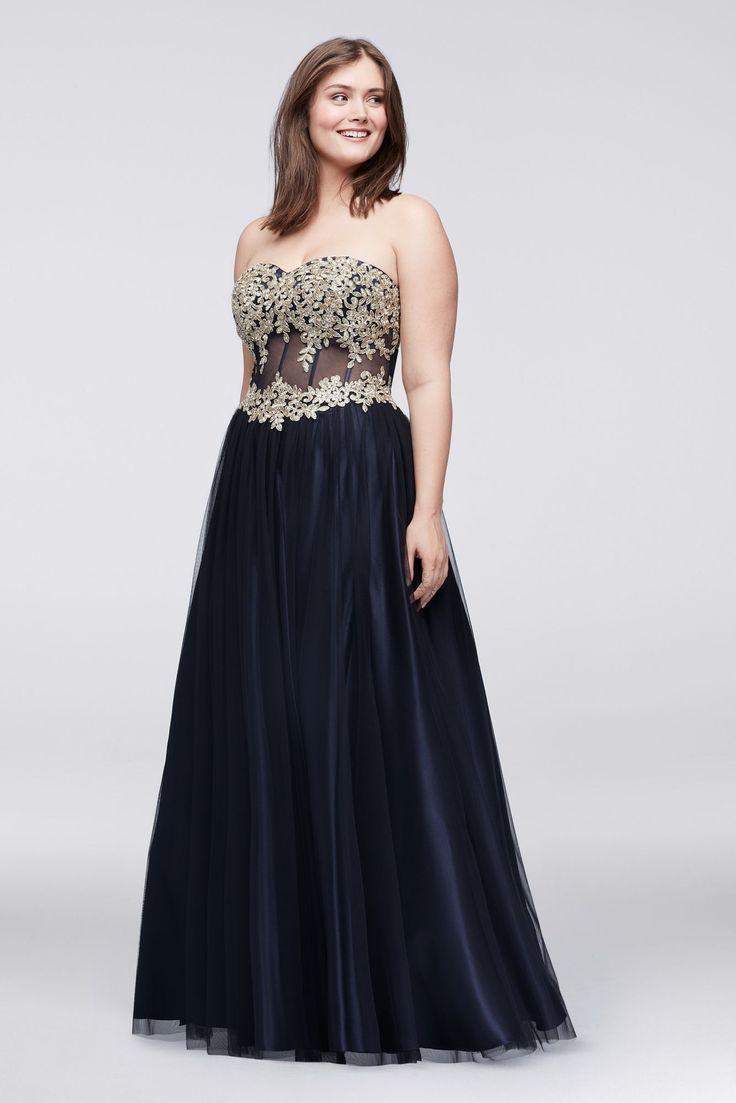 Plus size evening dresses canada