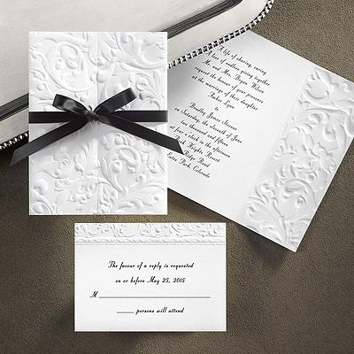 Simple, but elegant invitations