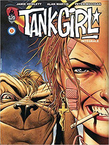 BD érotique - BD adultes - Tank Girl : Intégrale - Alan Martin, Rufus Dayglo