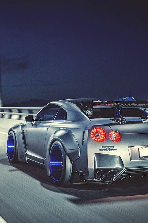 How many likes for Nissan GTR?