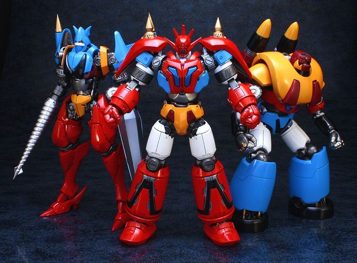 Part of my childhood reborn - Getter Robo G Fewture releases - Photo by RyugaSSJ3.deviantart.com on @deviantART
