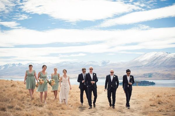 Emma and Chris's Stunning Lake Tekapo Wedding by Kimberley Cheyne Photography. See the full shoot here www.trulyandmadly.co.nz/stories Truly and Madly NZ's best wedding inspiration blog