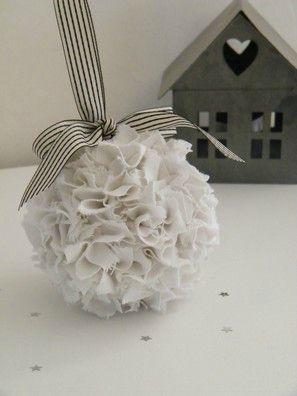 Boule de tissus / Ball tissues