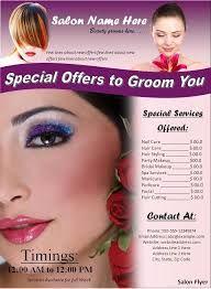 Resultado de imagen de beauty leaflet layout