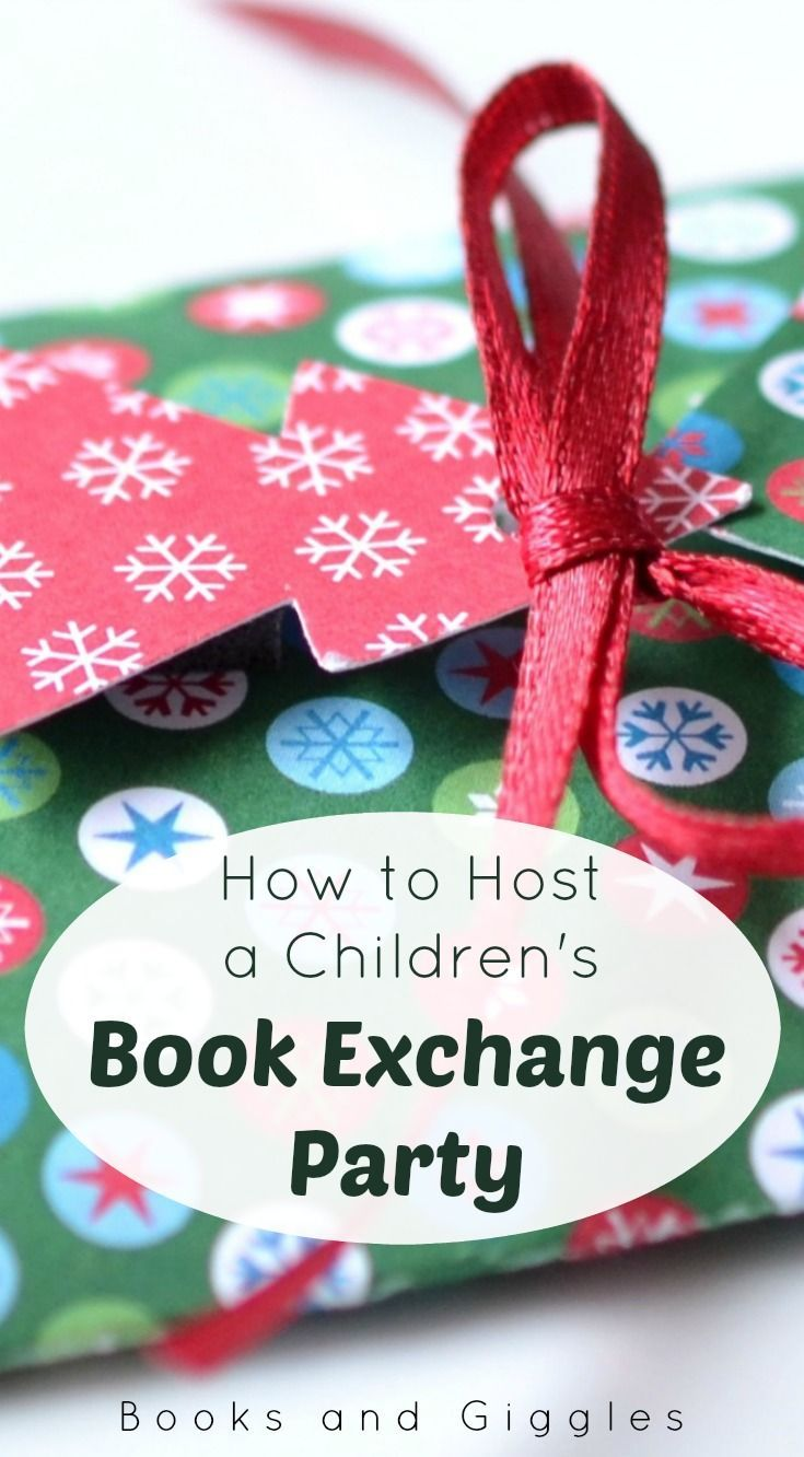 6th grade christmas party ideas - How To Host A Children S Book Exchange Party