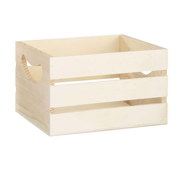 Wooden Crate | Kmart