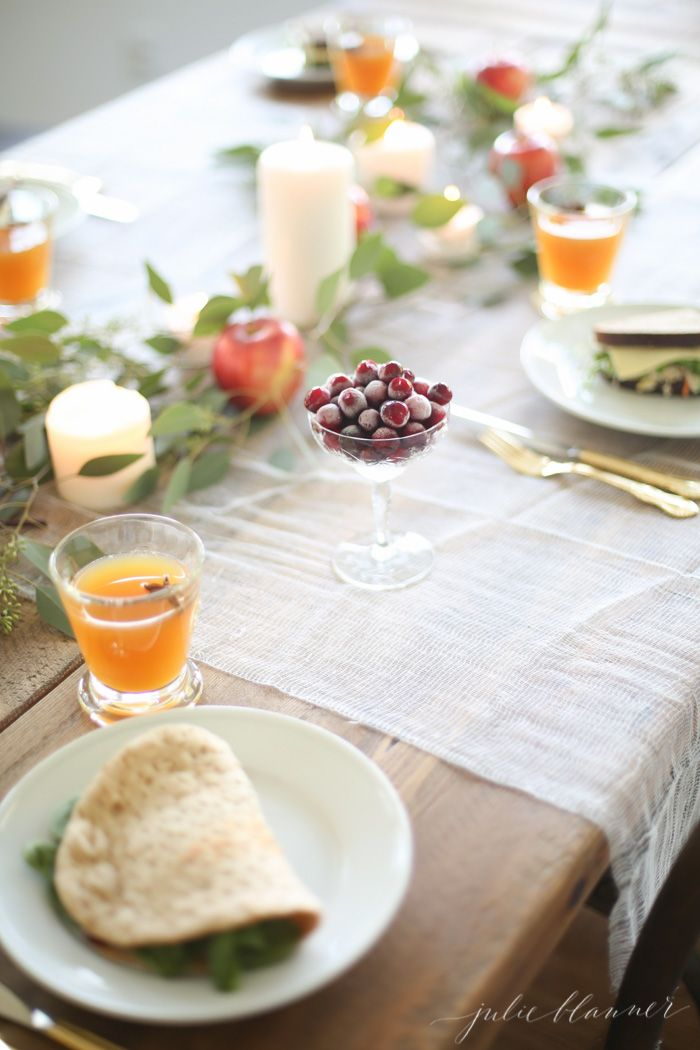 easy entertaining ideas for fall and a
