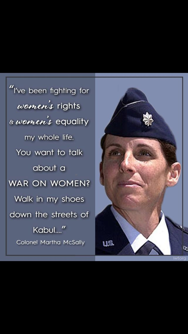 Col. Martha McSally
