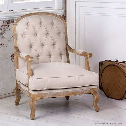 Maxime Lounge Chair - French Provincial Furniture