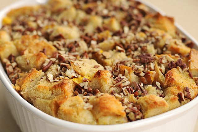 peachy-bread-pudding-TKBlog-11 by Ree Drummond / The Pioneer Woman, via Flickr