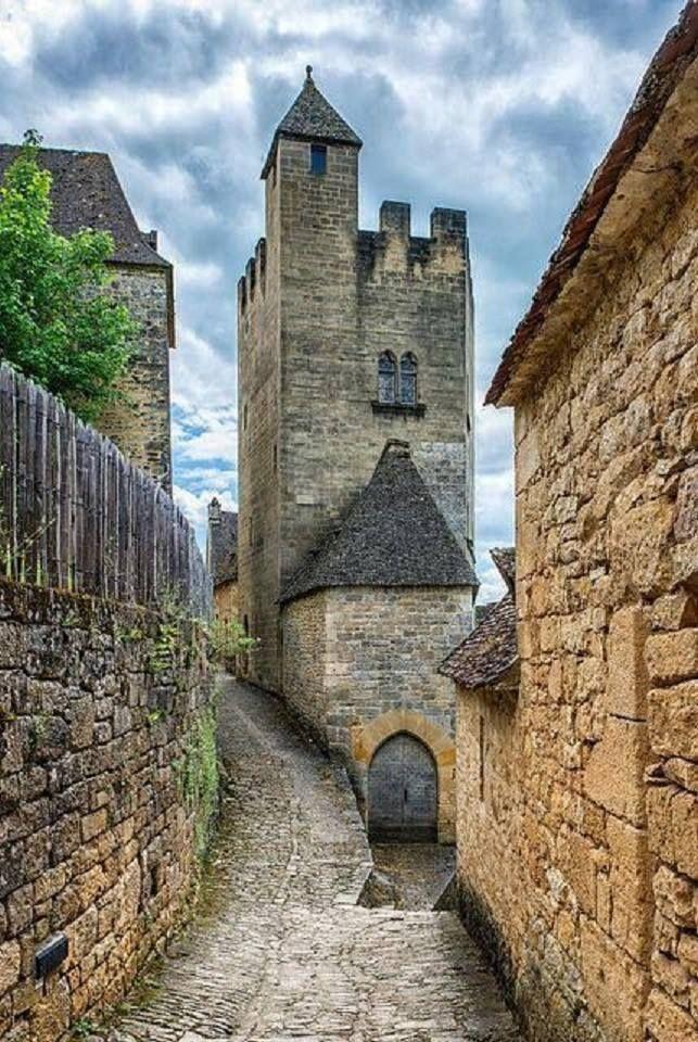 Medieval Castel of Beynac - France
