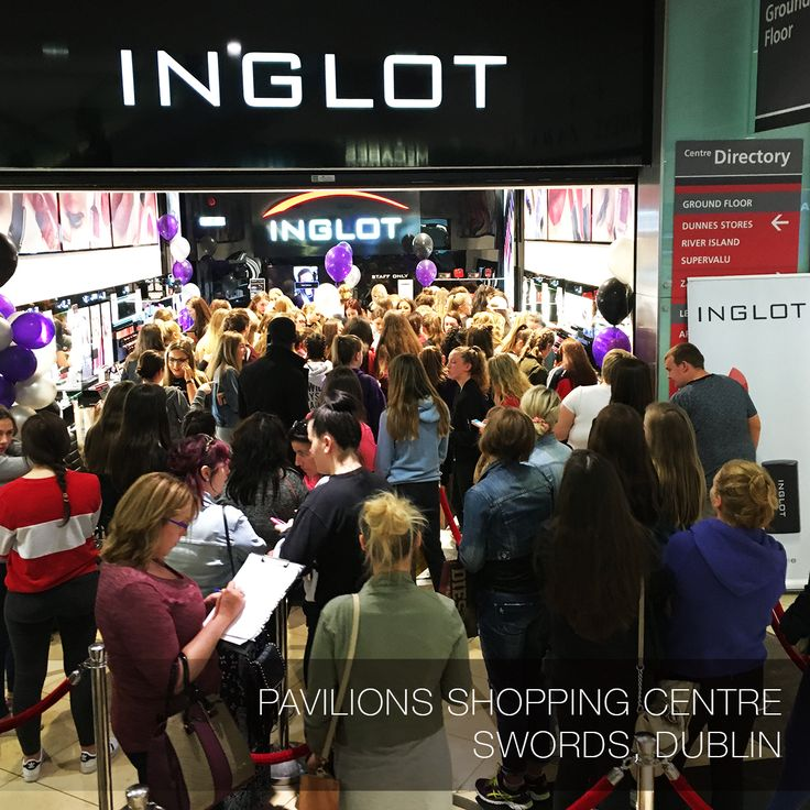 INGLOT store in Dublin, Ireland #inglotworldwide